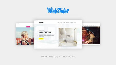 دانلود پروژه آماده افتر افکت معرفی وبسایت WebSlides