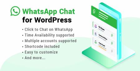 افزونه چت و پشتیبانی در وردپرس از طریق واتساپ WhatsApp Chat