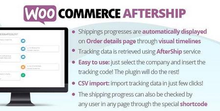 افزونه پیگیری حمل و نقل محصولات در ووکامرس WooCommerce AfterShip