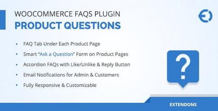افزونه نمایش سوالات متداول محصولات ووکامرس WooCommerce FAQ Plugin