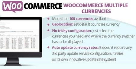 افزونه نمایش قیمت محصولات با ارزهای مختلف در ووکامرس WooCommerce Multiple Currencies