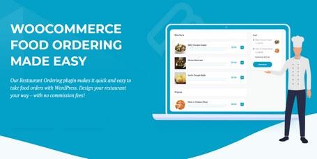 افزونه سفارش آسان غذا WooCommerce Restaurant Ordering برای ووکامرس