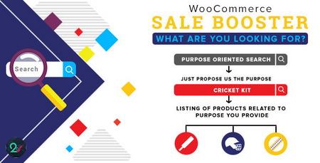 افزونه پیشرفته سازی بخش جستجوی محصولات ووکامرس Woocommerce Sale Booster