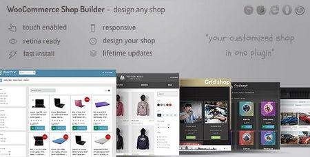 افزونه صفحه ساز فروشگاه ووکامرس WooCommerce shop page builder