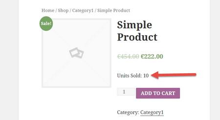 اضافه کردن تعداد فروش هر محصول در ووکامرس