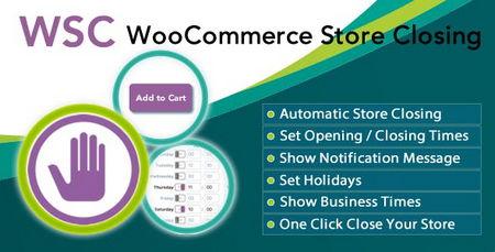 افزونه بستن فروشگاه ووکامرس درساعات غیر کاری Woocommerce Store Closing