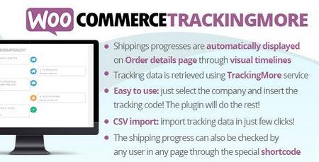 افزونه پیگیری سفارشات ووکامرس WooCommerce TrackingMore