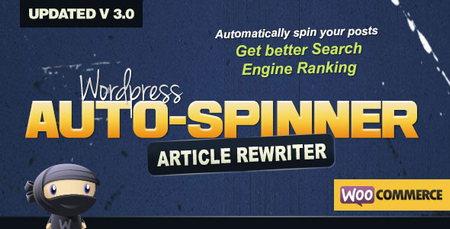 پلاگین بازنویسی پست های وردپرس و ووکامرس Wordpress Auto Spinner
