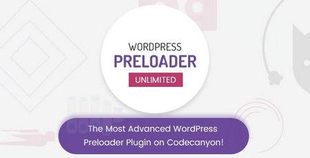 افزونه نمایش انیمیشن در هنگام بارگذاری سایت Wordpress Preloader Unlimited