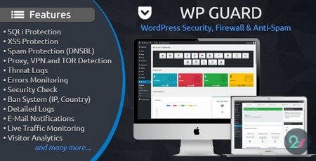 دانلود افزونه WP Guard   افزونه فایروال و آنتی اسپم وردپرس