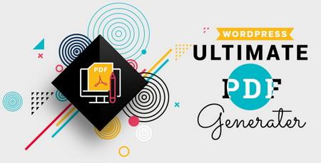 تبدیل نوشته های وردپرس به فایل PDF با افزونه WP Ultimate PDF Generator