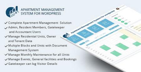 افزونه سیستم مدیریت آپارتمان برای وردپرس WPAMS