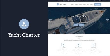 قالب تور و گردشگری Yacht Charter برای وردپرس