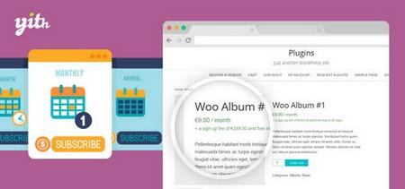 افزونه اشتراک ویژه ووکامرس YITH WooCommerce Subscription Premium