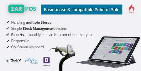 اسکریپت ایجاد سیستم فروش آنلاین نرم افزار و اپلیکیشن ZAR POS