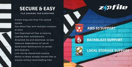 اشتراک گذاری سریع و امن فایل ها با اسکریپت ZipFileMe