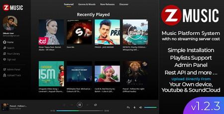 اسکریپت راه اندازی سایت موزیک Zuz Music